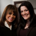 Paula Abdul and Brooke Elliott from 'Drop Dead Diva,' 2009