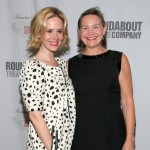 Former couple Sarah Paulson and Cherry Jones in happier times in April 2009