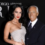 Megan Fox and Giorgio Armani
