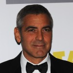 George Clooney attends the premiere of &#8216;Fantastic Mr Fox&#8217; and the Opening Gala of The Times BFI London Film Festival at the Odeon Leicester Square, London, October 14, 2009