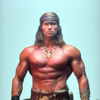 Arnold Schwarzenegger in &#8216;Conan The Barbarian&#8217;