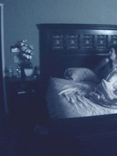 "A young couple experiences ""Paranormal Activity"""