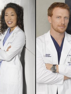 Sandra Oh and Kevin McKidd on 'Grey's Anatomy'