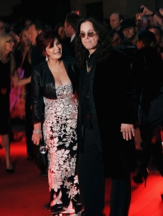 Sharon and Ozzy Osbourne attend the Pride of Britain Awards, London, Oct. 5, 2009