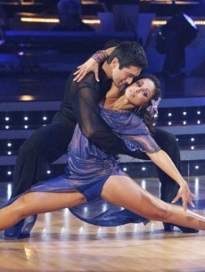 Dmitry Chaplin and Mya heat up the ballroom during Week 3 of 'Dancing'