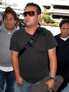 Jon Gosselin is spotted at Los Angeles International Airport on October 6, 2009 in Los Angeles, California