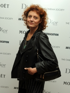 Susan Sarandon attends a screening of 'An Education' in NYC, Oct. 7, 2009