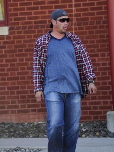 Jon Gosselin visits the Susquehanna Bank on October 08, 2009 in Reading, PA