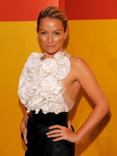 Becki Newton attends TimesTalks: An Evening With 'Ugly Betty' at The Times Center, NYC, October 12, 2009
