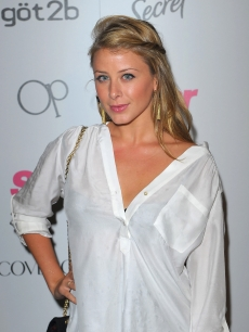 Lo Bosworth arrives at Star Magazine's 5th anniversary celebration in Hollywood on October 13, 2009