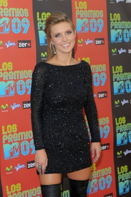 Audrina Patridge arrives at the Latin MTV Awards held at Gibson Amphitheatre, Los Angeles, October 15, 2009