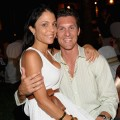 Bethanny Frankel and new fiance Jason Hoppy before their engagement on May 16, 2009
