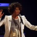 Whitney Houston performs during the Wetten dass&#8230;? show at the Messe Freiburg on October 3, 2009 in Freiburg, Germany