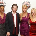 Shaun Robinson, Michael Johns, Nancy O'Dell and Alison Sweeney