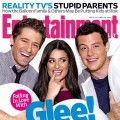 &#8216;Glee&#8217;s&#8217; Matthew Morrison, Lea Michele and Cory Monteith on the cover of Entertainment Weekly