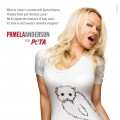 Pamela Anderson promotes PETA's Save The Seals campaign