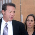 Jon Gosselin speaks with the media as he leaves Montgomery County Courthouse after a hearing regarding his divorce from wife Kate Gosselin, October 26, 2009 in Norristown, Pennsylvania