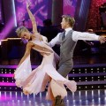 Joanna Krupa and Derek Hough perform on 'Dancing With the Stars' on October 26, 2009