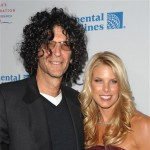 Howard Stern and wife Beth Ostrosky attend the 2009 Angel Ball benefiting The Gabrielle's Angel Foundation for cancer research at Cipriani Wall Street in New York City on October 20, 2009