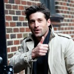 Patrick Dempsey heads into 'Letterman' in NYC, Oct. 28, 2009