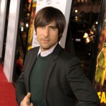 Jason Schwartzman busts a move on the red carpet at the premiere of his film 'Fantastic Mr. Fox' at the AFI Fest 2009 in Hollywood on October 30, 2009