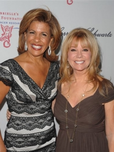 Hoda Kotb and Kathie Lee Gifford are all smiles at the 2009 Angel Ball benefiting The Gabrielle's Angel Foundation for cancer research at Cipriani Wall Street in New York City October 20, 2009