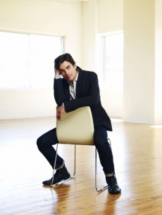 'White Collar' star Matt Bomer takes a seat