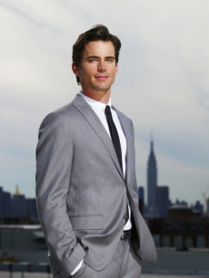 Matt Bomer steps out in New York in 'White Collar'