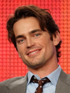 Matt Bomer takes questions on 'White Collar' at the 2009 Summer TCA Press Tour in Pasadena, Calif., on August 4, 2009