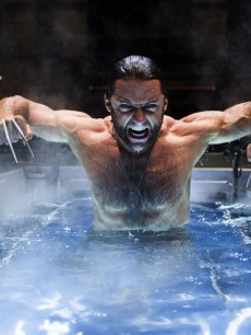 Hugh Jackman in a scene from 'Wolverine'