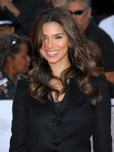 Roselyn Sanchez attends the LA premiere of &#8216;This Is It,&#8217; Oct. 27, 2009