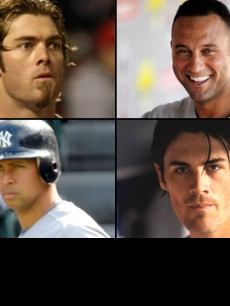 World Series studs: Derek Jeter/Jayson Werth/Alex Rodriguez/Cole Hamels