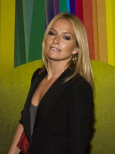 Becki Newton attends the 'Finian's Rainbow' Broadway opening night at the St. James Theatre, NYC, October 29, 2009