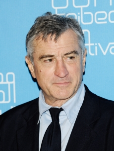 Robert De Niro gets serious at the 2009 Doha Tribeca Film Festival on November 1, 2009