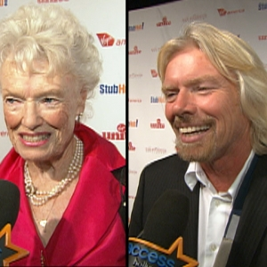Richard &amp; Eve Branson Unite For Charity