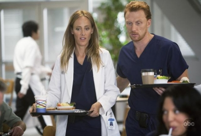 Kim Raver and Kevin McKidd on 'Grey's' Anatomy's' Nov. 12 episode