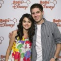 Selena Gomez with Radio Disney's Jake Whetter.