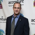 'Law & Order: SVU' star Christopher Meloni attends the Only Make Believe 10th Anniversary after party at Sardi's, NYC, November 2, 2009