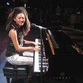 Judith Hill on the Access Hollywood stage, Nov. 2009