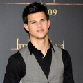 Taylor Lautner is seen looking sharp at &#8216;The Twilight Saga: New Moon&#8217; photocall at Villa Magna Hotel on November 12, 2009 in Madrid, Spain