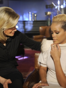 Diane Sawyer interviews Rihanna (photo released: November 2, 2009)