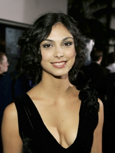 Morena Baccarin, poses at the Universal Pictures' Premiere of 'Serenity' held at Universal Studios on September 22, 2005