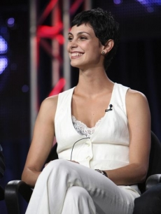 Morena Baccarin talks about 'V' at ABC's Fall TCA panel, Pasadena, Aug. 2009