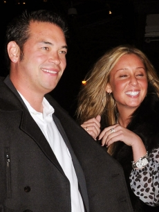Jon Gosselin and Hailey Glassman out and about in New York City on October 17, 2009