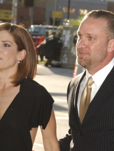 Sandra Bullock and husband Jesse James in 2006