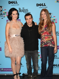 Katy Perry, Pete Wentz and Joss Stone attend the Press Conference prior to the MTV Europe Music Awards 2009 at the O2 Arena, Berlin, Germany, November 4, 2009