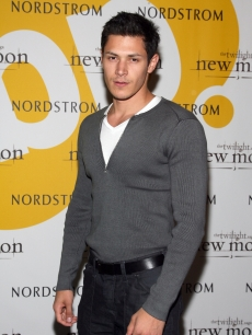 Alex Meraz attends 'The Twilight Saga : New Moon' Cast tour at Nordstrom in Canoga Park, California on November 5, 2009