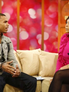 Chris Brown sits down for an interview with Wendy Williams, Nov. 2009