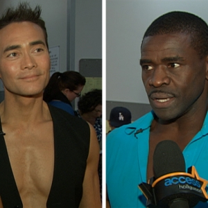 Mark Dacascos & Michael Irvin's 'Dancing' Goodbye (November 3, 2009)