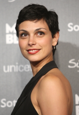 Morena Baccarin arrives at the UNICEF benefit gala auction hosted by Montblanc, Beverly Hills, September 17, 2009